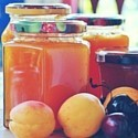 Marmalade and Jam with fruit