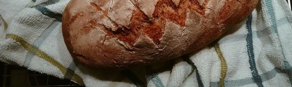 pane integrale fatto in casa homemade wholemeal bread copertina