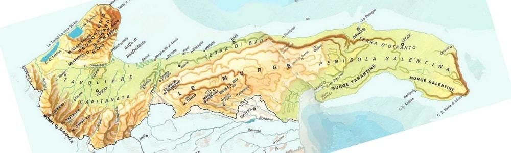 le puglie attraverso i territori pugliesi puglie across Apulian territories copertina-min