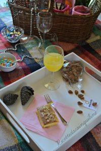 voglia di picnic merendine alla crema di mandorle - picnic desire snacks with almond cream - 1-min