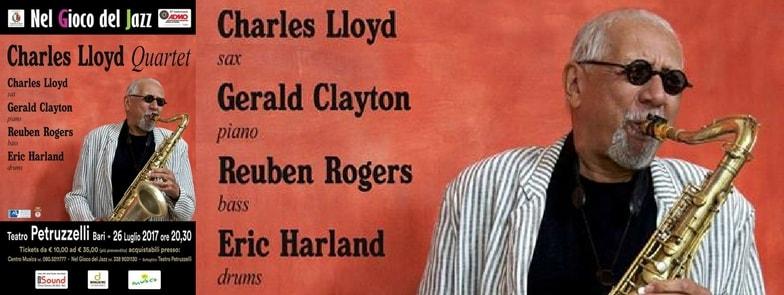 charles lloyd nel gioco del jazz teatro petruzzelli copertina-min