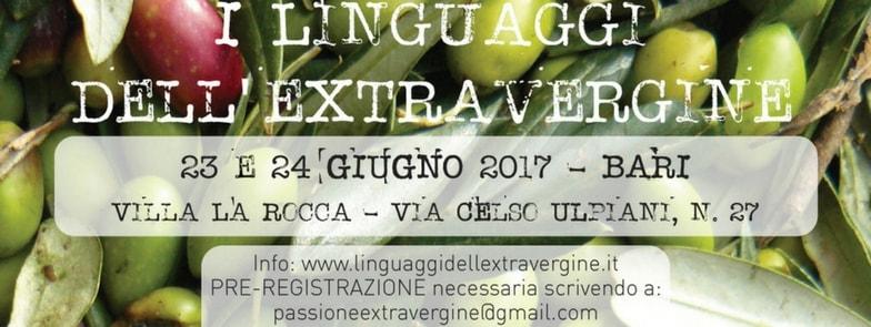 23-24 Giugno 2017 | Cultura dell'Olio | @Villa La Rocca, Bari, Puglia, Italia.