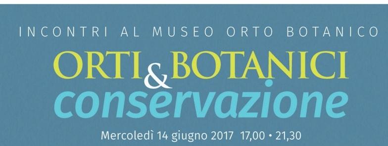 orti botanici e conservazione Botanical gardens and conservation copertina