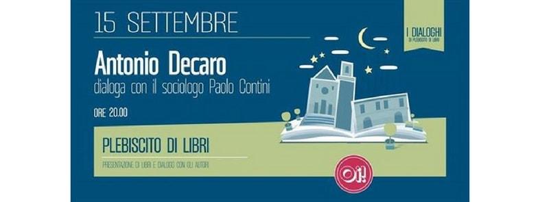 15 Settembre 2017 | Dialogo | @ Birreria Oi, Putignano, Bari, Puglia, Italia.