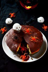 ragnatella la ciambella per halloween - the donut for halloween copertina