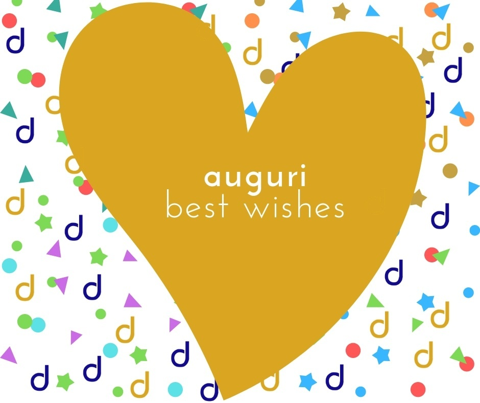 auguri best wishes dispensa dei tipici