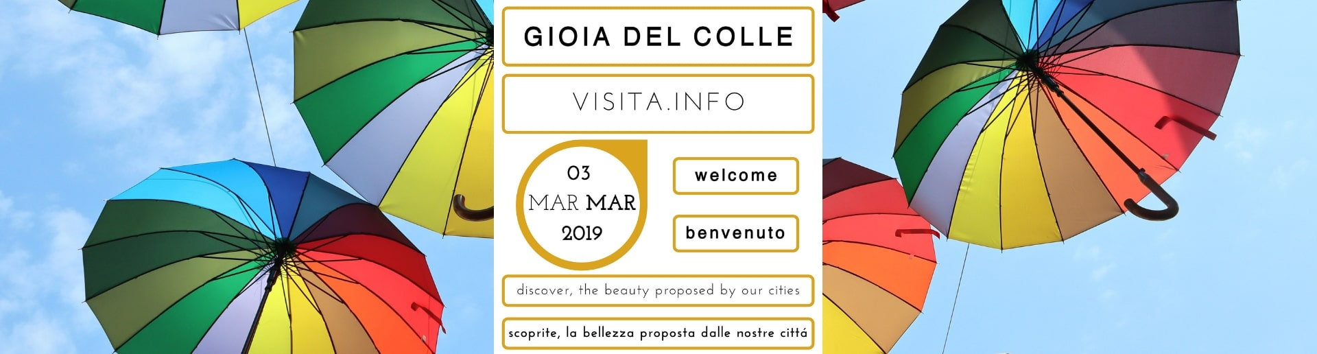 Sunday 3rd March 2019: plan your visit to Gioia del Colle (Bari, Puglia, Italy)