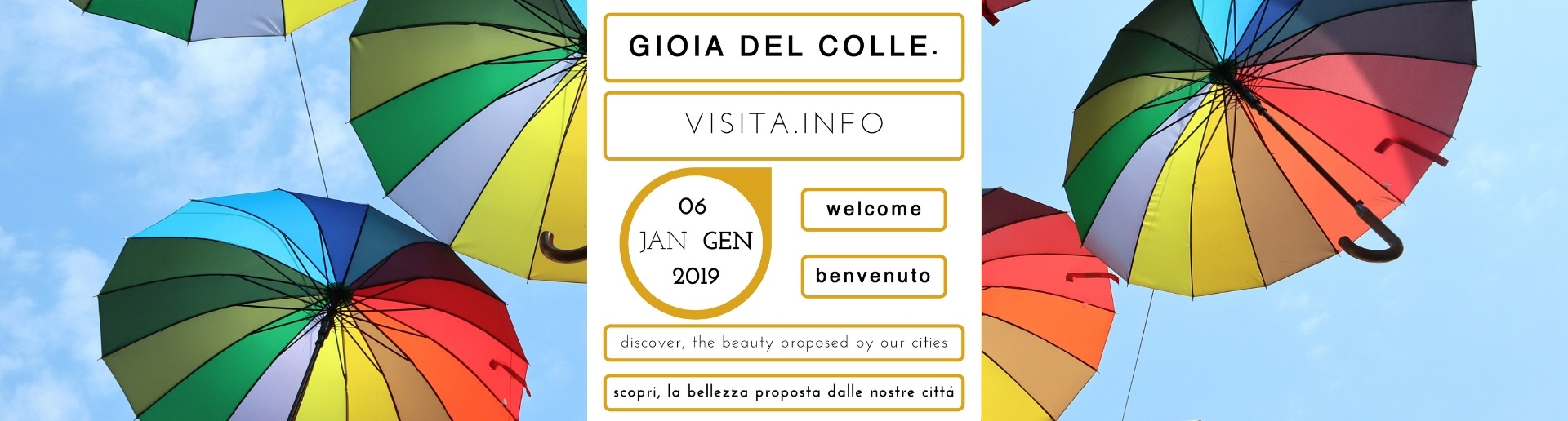 Sunday 6th January 2019: plan your visit to Gioia del Colle (Bari, Puglia, Italy)