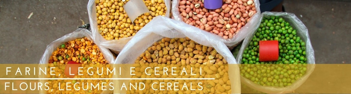 Flours, Legumes and Cereals